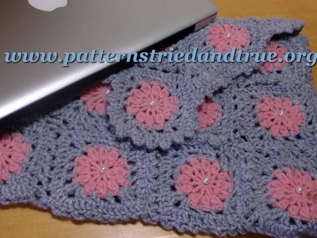 Crochet Pattern Maker Mac : Computer Bag for Mac Pro Crochet Pattern Ipad sleeve Cell
