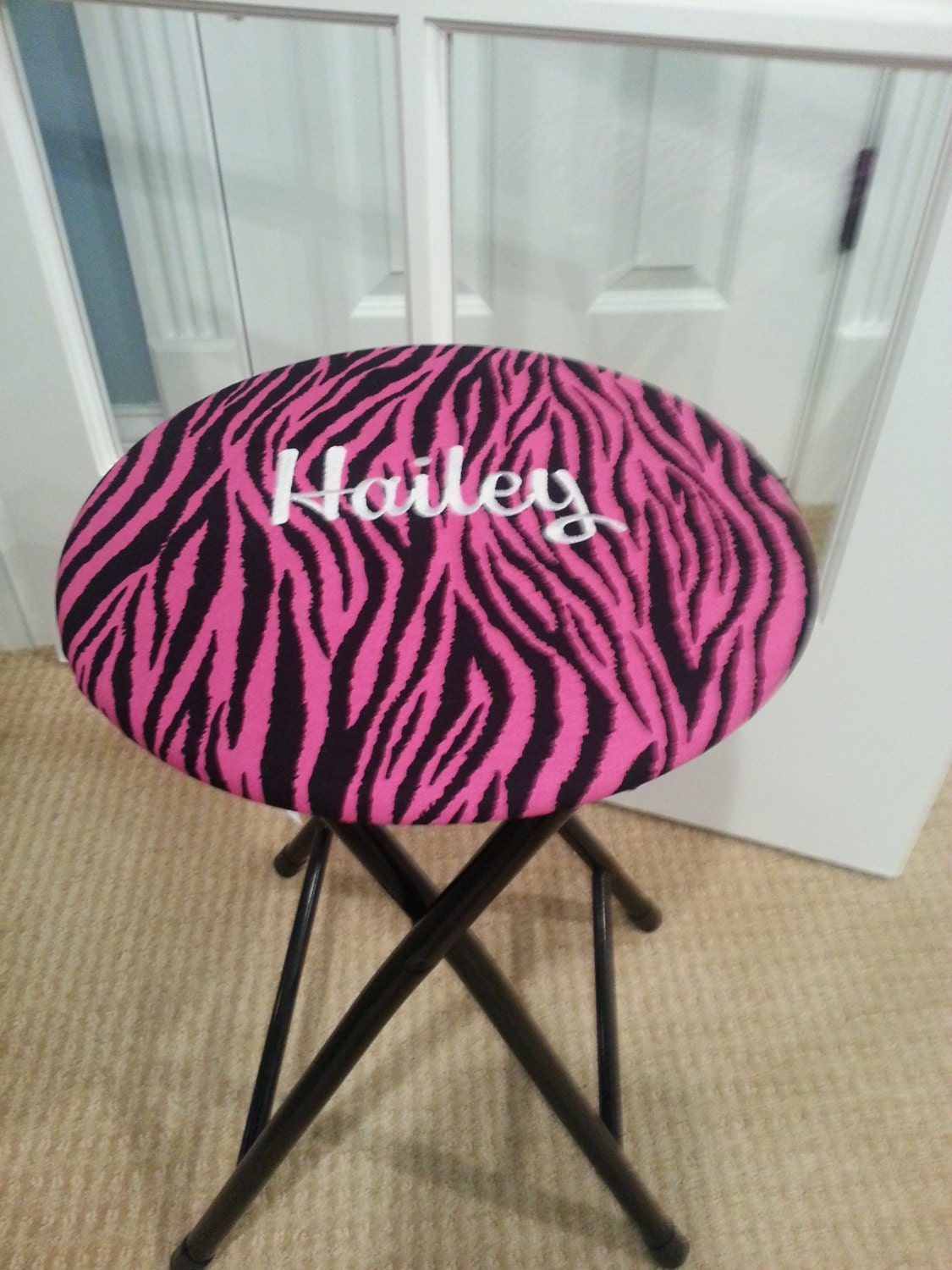 Personalized Stool Cover