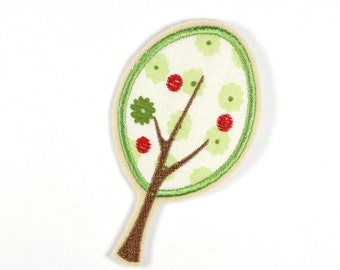 Patch tree apple tree 11 x 6,5cm