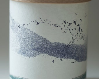 MURMURATION CANDLE COVER