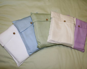 Organic Cotton Crib Fitted Sheet - Pure and natural - Nursery - Bedding - Soft - Co-sleeper - Cradle -Bassinet - Organic