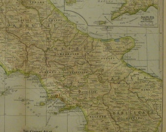 italy map sicily map milan naples florence 2 pieces italy north central