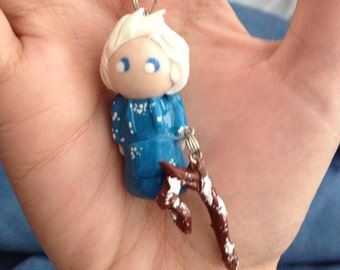 Made to Order Polymer Clay Chibi Jack Frost (Rise of the Guardians) Charm