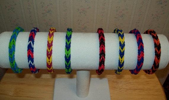 Rainbow Loom Rubber Band Bracelet Fishtail Design School