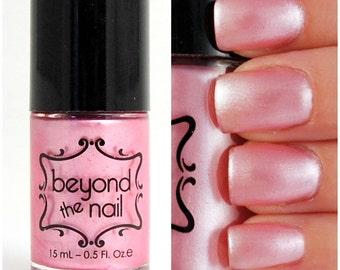 Pale Pink Pearl Nail Polish
