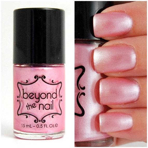 Pearl Nail Polish: Pale Pink Pearl Nail Polish