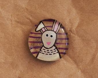 Bunny Rabbit Gem Magnet Kitchen & Home Decoration