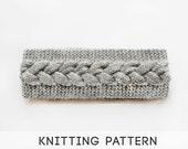 PDF Knitting Pattern Headband, Cable Knit Headband Pattern, Knit Headwarmer Pattern, Knit Headwrap Pattern Braid Headband - Instant Download