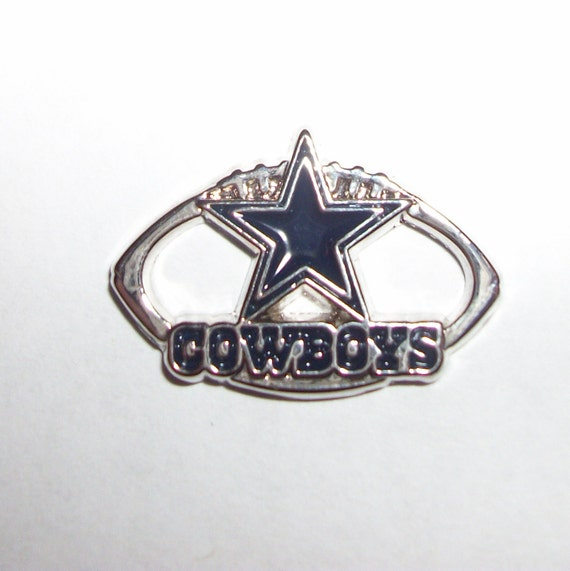 dallas cowboys licensed charm great for by paracordbydesign. Black Bedroom Furniture Sets. Home Design Ideas