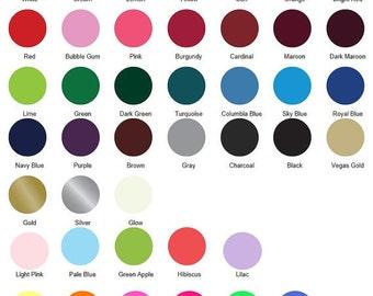 Special Vinyl Color