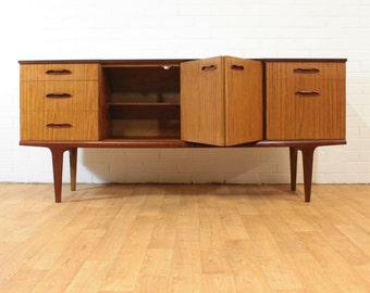 Items Similar To Vintage Swedish Cabinet Mid Century