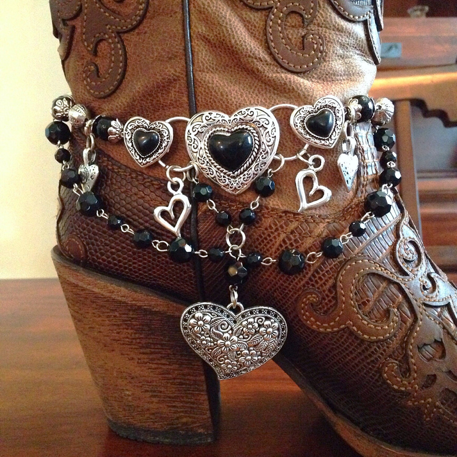 boot jewelry boot bracelet boot bling boot charms