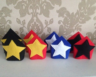 Superhero wrist bands/cuffs