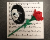 Wedding Favor Phantom of the Opera decorated Chocolate Candy
