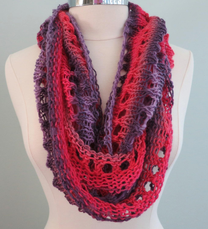 Free Mens Hat Knitting Pattern : Beginner Pattern PDF 135 Knitting Pattern Grace Elle Infinity scarf, cowl, he...