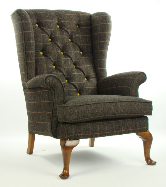 Items Similar To Vintage Parker Knoll Armchair Harris
