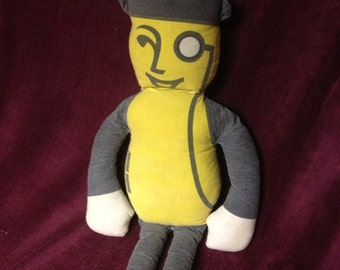 1950s Mr. Peanut Doll--Home kit