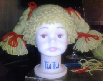 Crochet Cabbage Patch Hat!