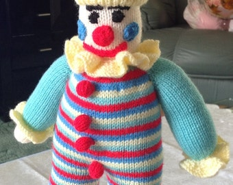 Clown with bobbles and ruffles