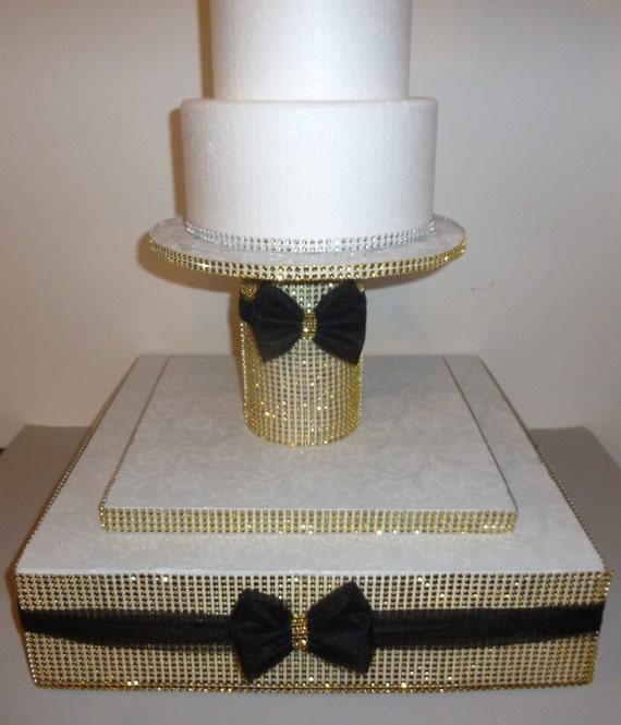 Rhinestone Cake Stand For Sale