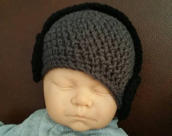 Crochet headphone beanie hat, Dr Dre beats newborn to adult sizing avaliable.