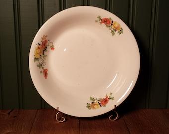 Vintage Homer Laughlin China Bowl With Floral Design