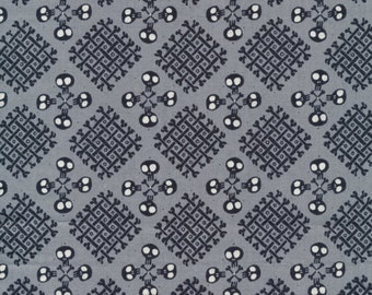 Checkerbones from the Dem Bones Collection by Cloud 9 ORGANIC cotton