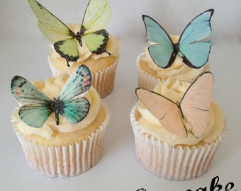Delicate and Beautiful Edible Butterflies