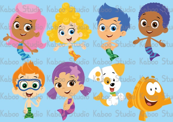 Bubble Guppies Oona And Goby - #traffic-club
