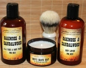 Handmade Shave Soap, Body Wash, Body Lotion, Men's Body Wash, Men's Body Lotion, Gift Set, Man Gift, Dad Gift, Brother Gift, Father's Day