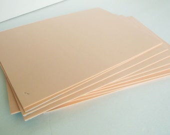 20 Sheets of Foam 9x12 - Peach/Flesh- Ideal for foam crafts, fofuchas and more