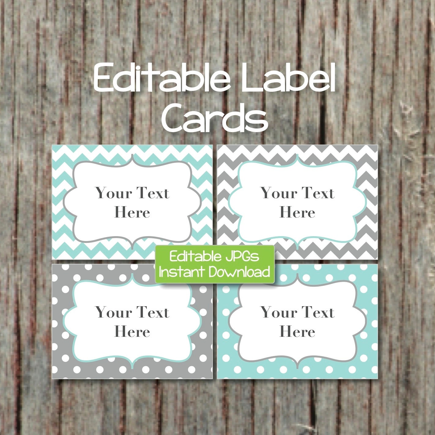 name tags editable labels cards jpg file printable baby shower