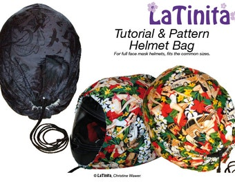 PDF Ebook Tutorial and Pattern Helmet Bag