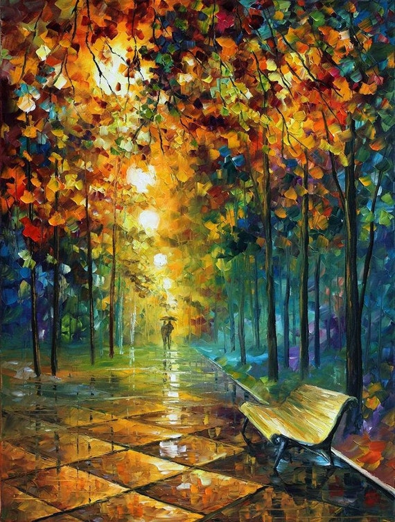famous paintings abstract oil art on canvas by leonid afremov. Black Bedroom Furniture Sets. Home Design Ideas