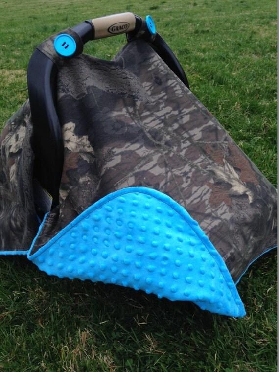 Items Similar To Infant Mossy Oak Camo Car Seat Canopy