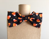 Candy Corn Bow Tie, size 2-5, Fall, Halloween