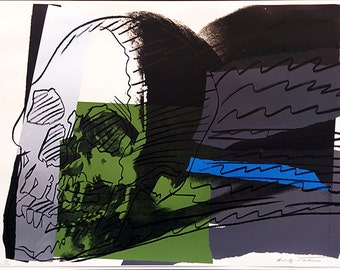 "Andy Warhol II.160 ""Skulls"" - 1986 - S/N Screenprint - COA - See Live at GallArt - Buy/Sell"