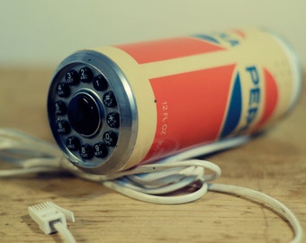 Vintage 1970's/ 80's Pepsi Can Telephone