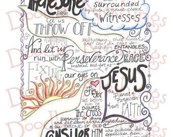 The Race  // Hebrews 12 1-3
