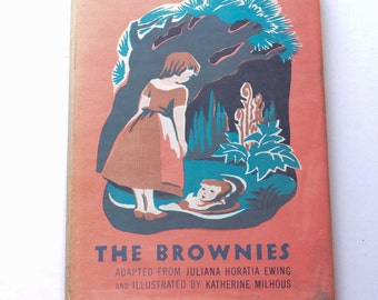 Children's Book - The Brownies by Juliana Horatia Ewing Vintage Brownie Scouts