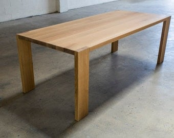 The Morrison White Oak Dining Table