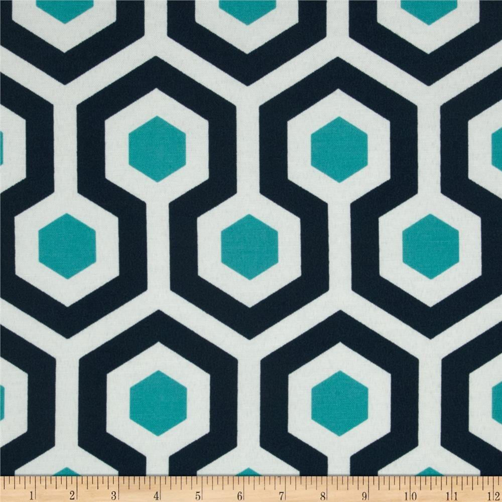 Upholstery fabric geometric design fabric home decor aqua blue - Ships Same Day Premier Prints Magna Oxford Outdoor Fabric Modern Geometric Upholstery Fabric Navy Aqua Outdoor Fabric By The 1 2 Yard