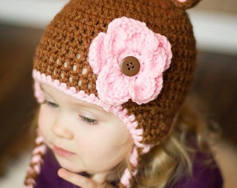 Adorable bear hat