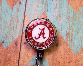 Alabama retractable badge reel