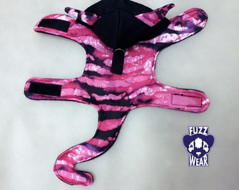 Any Size Harness - Ferret / Dog / Cat - Pink Cheshire Cat Costume  MADE TO ORDER
