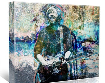 Trey Anastasio Canvas, Phish Original, Jamband Painting Canvas Art Print