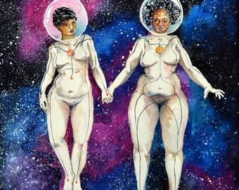 space lesbians