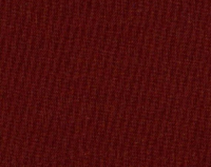 SUPER CLEARANCE!! One Yard Windham Blendables in Cabernet - Dark Red Solid Cotton Quilt or Sewing Fabric Solids - Windham Fabrics (W502)