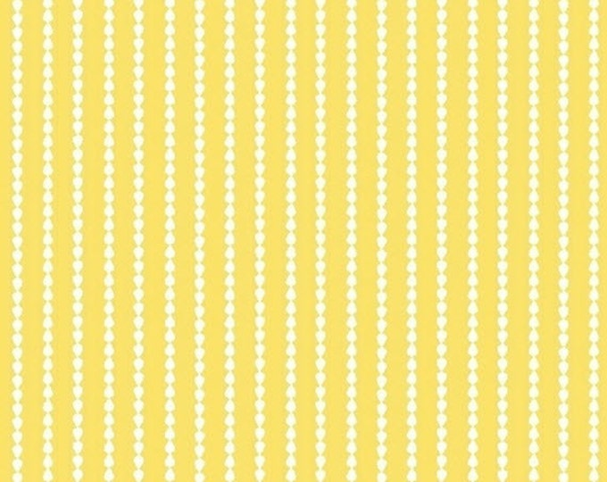 One Yard Oh Clementine - Stripes in Yellow - Cotton Quilt Fabric - by Allison Harris of Cluck Cluck Sew for Windham Fabrics (W2114)