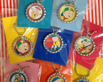 Caillou 10 Qty Party Favor Necklaces Caillou Party Caillou Kids Party Caillou Party